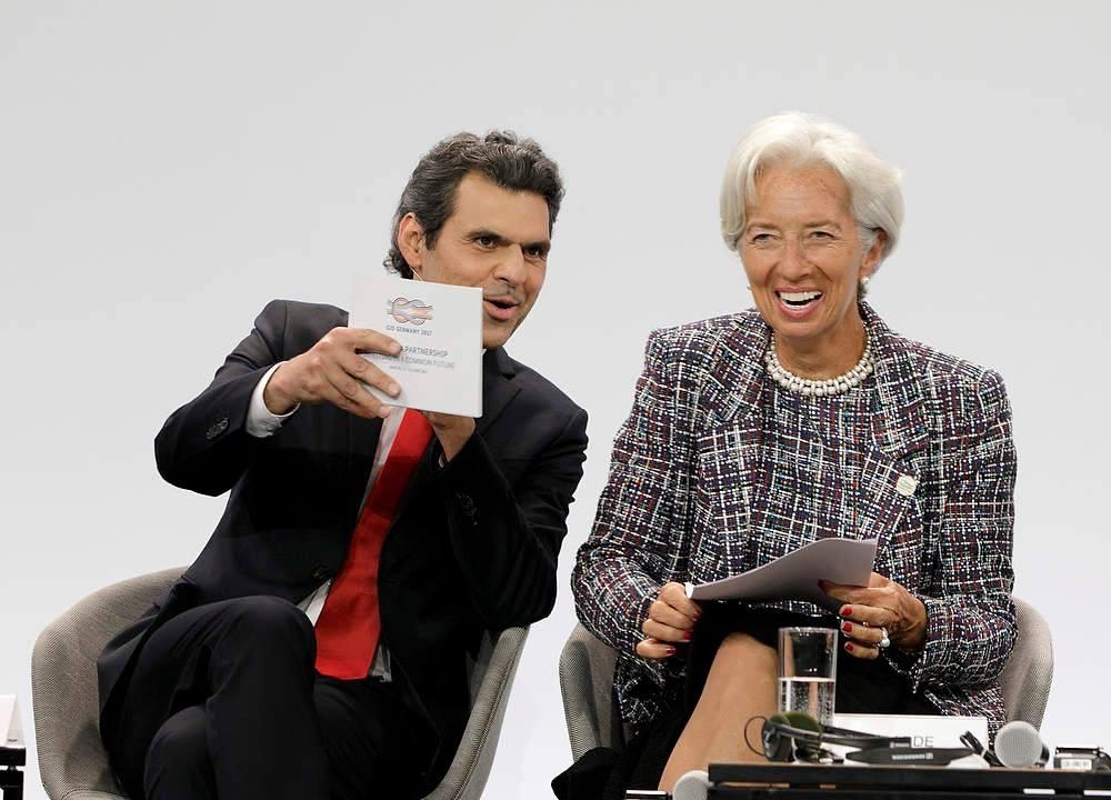 Ali Aslan Moderation mit Lagarde