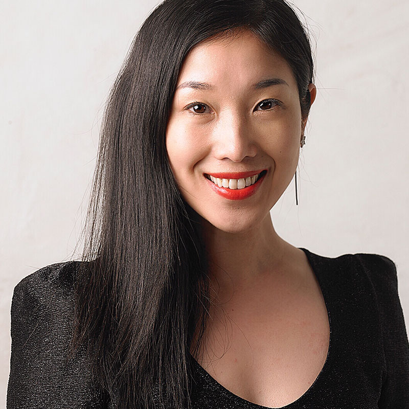 Chinesische Moderatorin